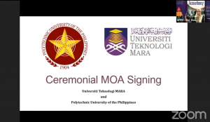 UNIVERSITI TEKNOLOGI MARA (UiTM) & POLYTECHNIC UNIVERSITY OF THE PHILIPPINES